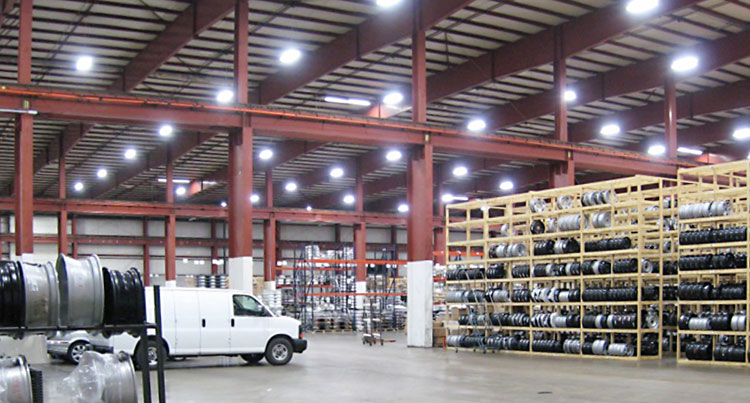 Lighting retrofit for warehouse, industrial buildings, factories and offices
