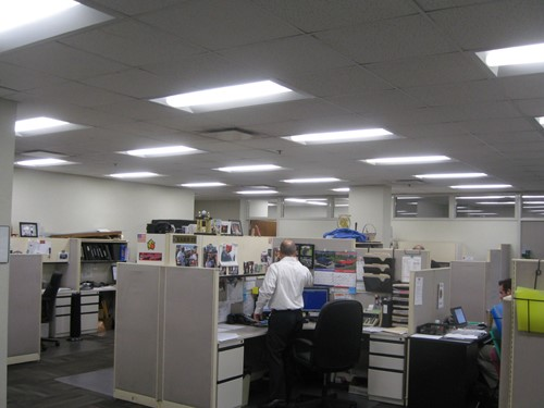 convert office lighting to led and save 75% in energy costs! |