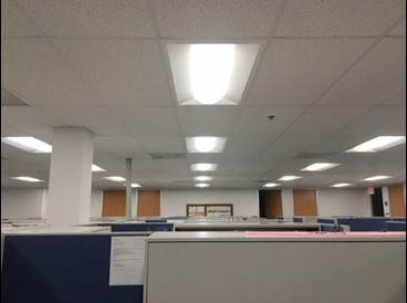 T8 office troffers to Philips LED EVO kits
